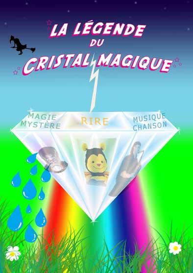 spectacle enfants CristalMagique